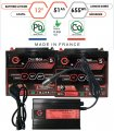 Pack lithium 12V – 2 batteries 51Ah & chargeur